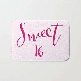 Sweet 16 Bath Mat