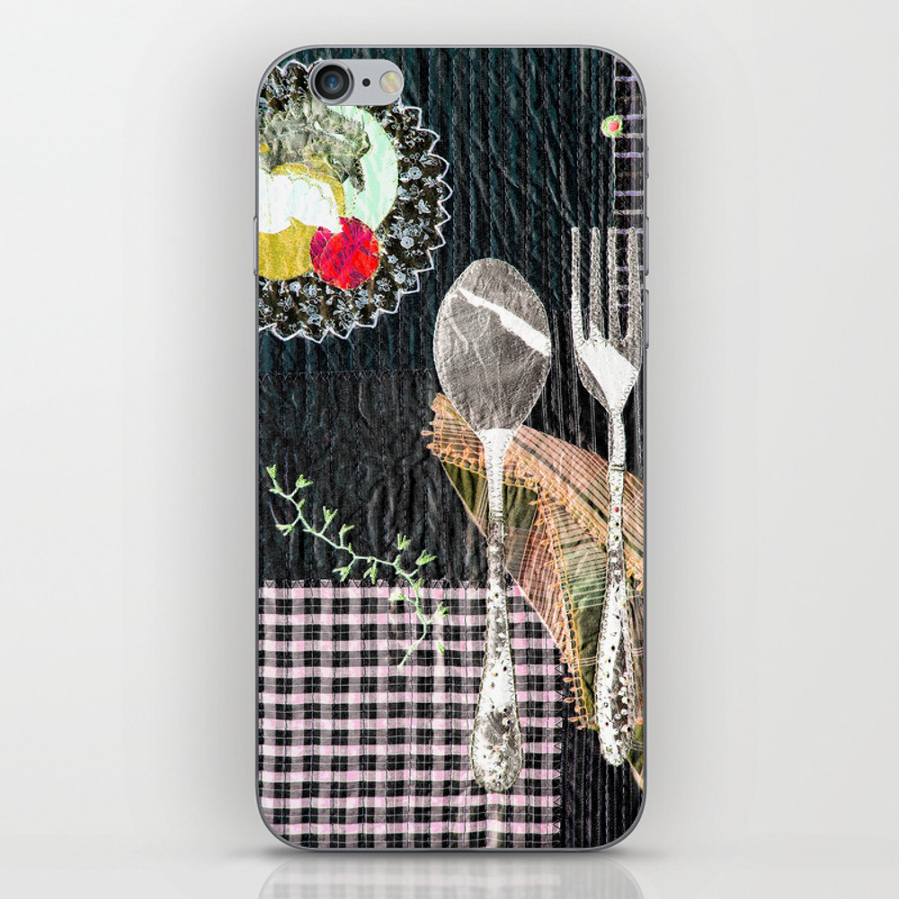 Late Night Dinner Iphone & Ipod Skin by Bozenawojtaszek PSK9142177