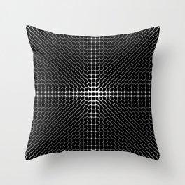 Energy Vibration 2.  Frequency - Chladni - Cymatics Throw Pillow