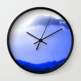 Sharm Mountains Wall Clock