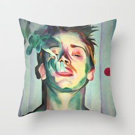 Macaulay Culkin Throw Pillow