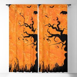 Halloween Blackout Curtain
