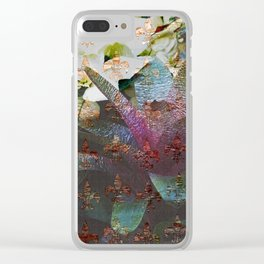 Reaching Up Clear iPhone Case