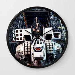 Robotech Wall Clock