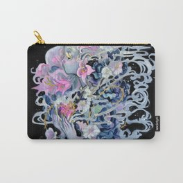 Wolf in No One Clothing Carry-All Pouch