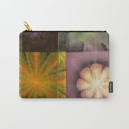 Referenced Tissue Flowers  ID:16165-142303-03261 Carry-All Pouch