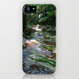 Woodland Stream--Landscape Photography Prints iPhone Case