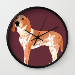 George Standing Wall Clock