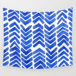 Chevron ink Wall Tapestry