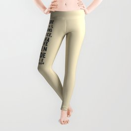 If you are neutral in situations of injustice, Desmond Tutu quote, civil rights, peace, freedom Leggings