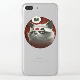 Hai! Clear iPhone Case