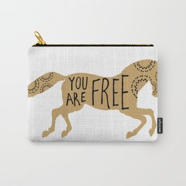 You Are Free Carry-All Pouch