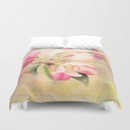 Blossoming Love Duvet Cover
