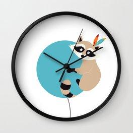 Elliot et son voyage fantastique - Raton laveur Wall Clock