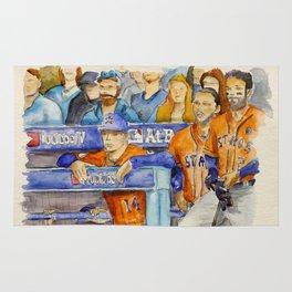 AJ Hinch  – Astros Manager Rug