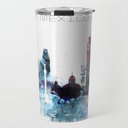 Mexico watercolor Travel Mug