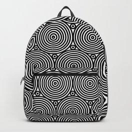Op Art 8 Backpack