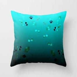 20180707 Graphic gradient pleasure No. 1 Throw Pillow