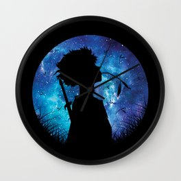 Mugen Silhouette Style Wall Clock