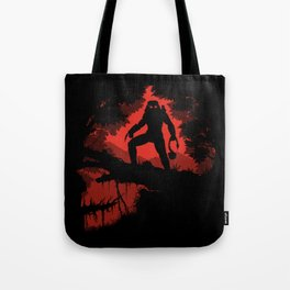 Jungle Hunter Tote Bag