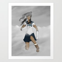 Sailor Korra Art Print