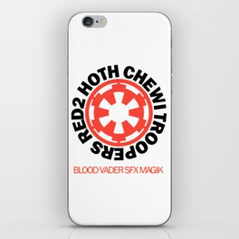 Red2 Hoth Chewi Troopers iPhone Skin