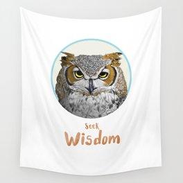 Seek Wisdom Wall Tapestry