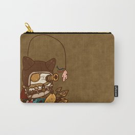 Steampunk Kitty Carry-All Pouch