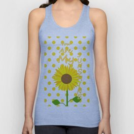 Inspired Sunshine Quote Unisex Tank Top