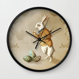Time for Easter Wall Clock
