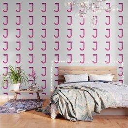 Crystal 'J' Wallpaper