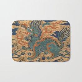 Stylized Bear Bath Mat
