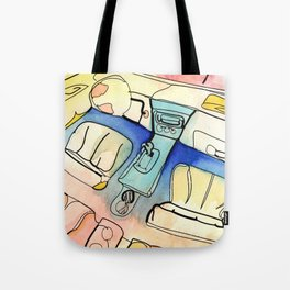 Carjacked Tote Bag