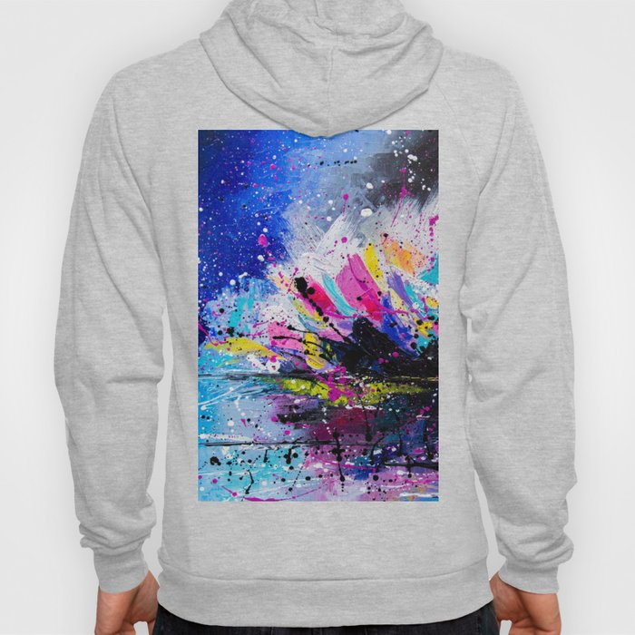 Night Lotus Hoody