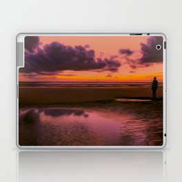 Another place at sunset Laptop & iPad Skin