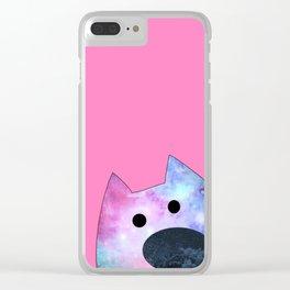 cat 206 Clear iPhone Case