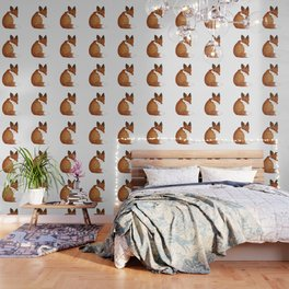 Resting Fox Wallpaper
