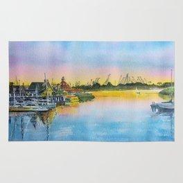 Sunset at Shoreline Village Rug