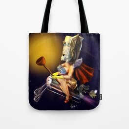 The  Unknown Super Wife Tote Bag