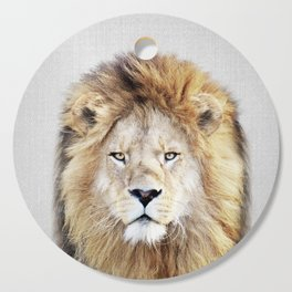 Lion 2 - Colorful Cutting Board