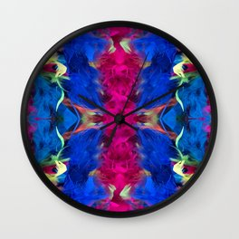 Magnificent Feathers Wall Clock