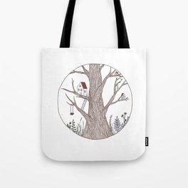 Tree Town Tote Bag