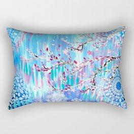 Sakura in Spring Rectangular Pillow