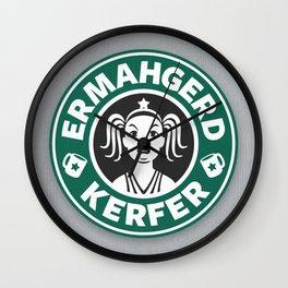 Ermahgerd, Kerfer! Wall Clock