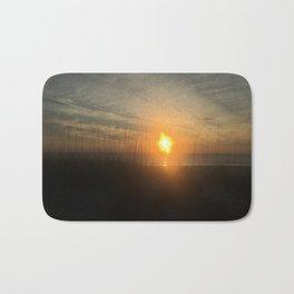 dune sunset Bath Mat