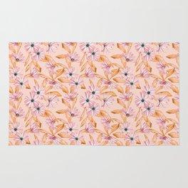 Pink Daisies Rug
