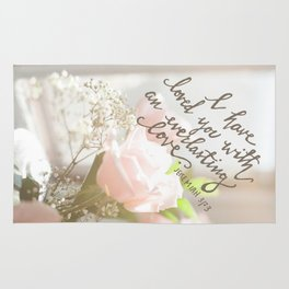 Roses & An Everlasting Love Rug