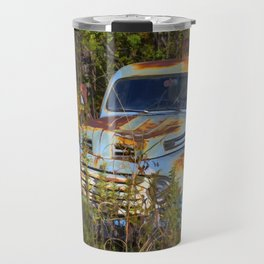 Old Blue Ford Truck Travel Mug
