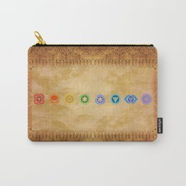 Chakras Kali   Beyond the time  Carry-All Pouch