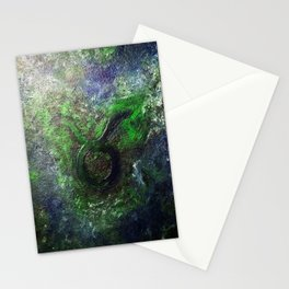 Mysterious Taurus Stationery Cards